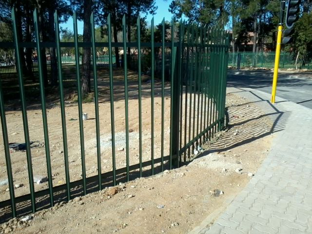 Single Spike Palisade Fencing