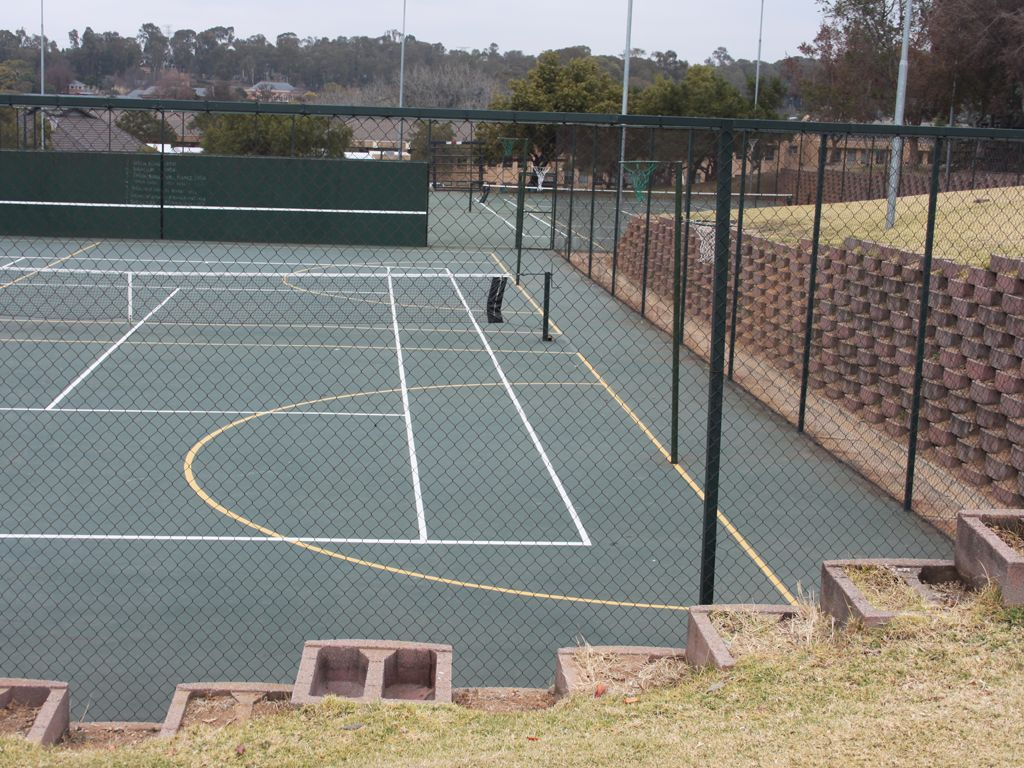 Tennis Court Diamond Mesh