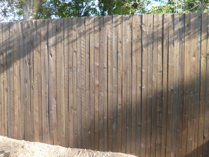 Wooden Fence-Capping