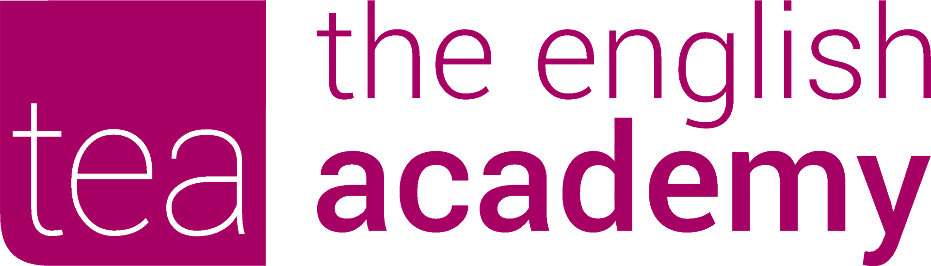 The English Academy-Ensino de Línguas Lda Logo