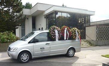 Obřadní síň - Pohřební služba Pieta, Otrokovice